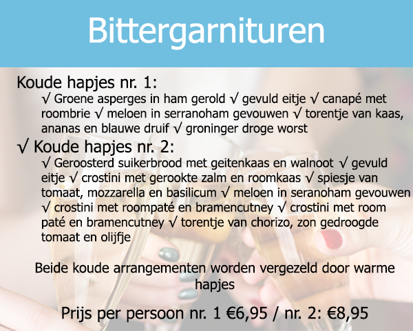 Bittergarnituren
