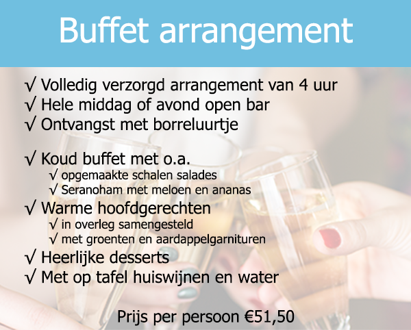 Buffet arrangement